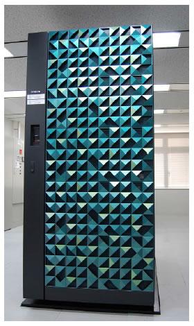 [画像]新スーパーコンピュータシステムの外観
