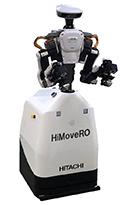 [画像]「HiMoveRO」外観 (下部:「HiMoveRO」、上部:カワダロボティクス製双腕ロボット「NEXTAGE」)