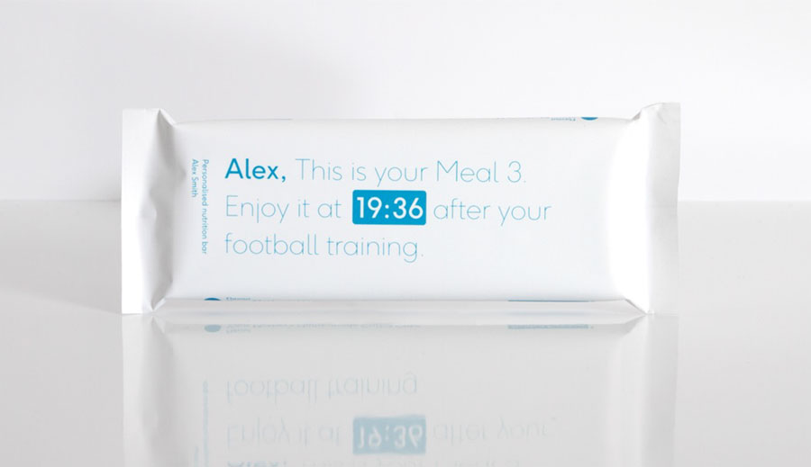 Personalised meal bar